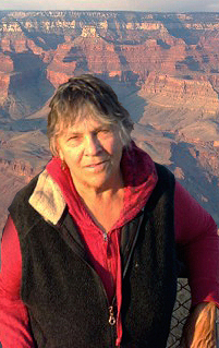 Mary Sojourner at the Grand Canyon National Park